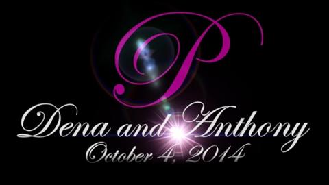 Dena & Anthony October 4 2014