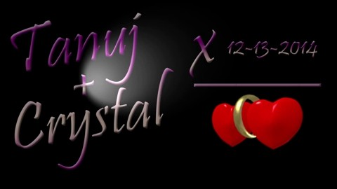 Tanuj & Crystal December 13 2014